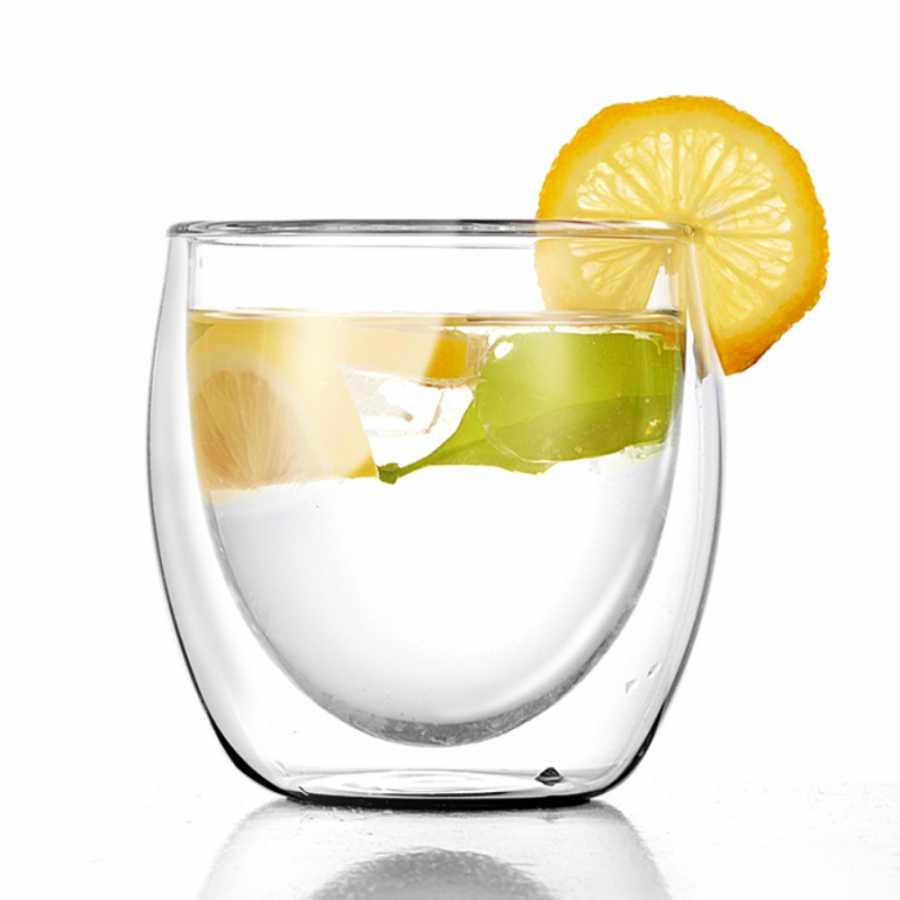 double wall glass bardak 250 ml