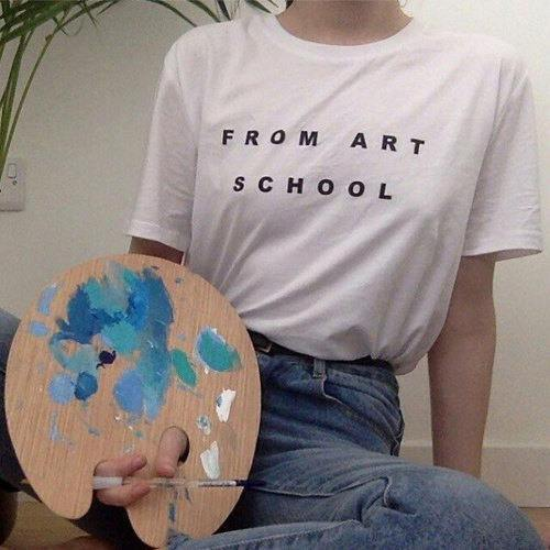 from-art-school-tshirt
